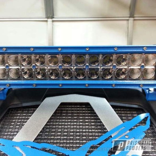 Powder Coating: Powder Coated Custom LED Light Bar,Off-Road,Robin Blue River PRB-4421