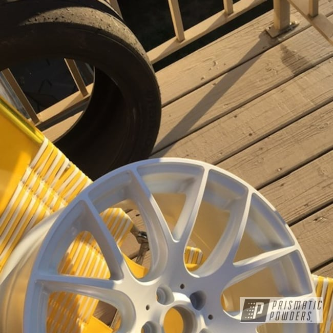 Powder Coating: Wheels,PEARLIZED VIOLET UMB-1536,Powder Coated Mirro 111 Wheel