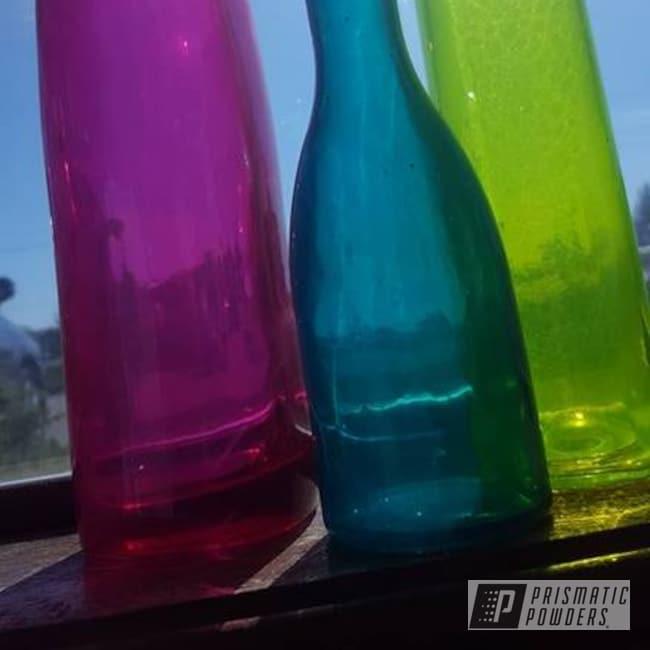 Powder Coating: AQUA CLEAR UPS-1680,LOLLYPOP BERRY UPS-1509,Shocker Yellow PPS-4765,Miscellaneous
