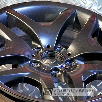 Bmw M Series Wheels Coated In Misty Lava