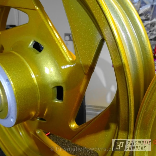 Zerrin Gold Over Silver Metallic Ii