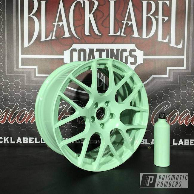 Powder Coating: Wheels,Clear Vision PPS-2974,China Mint PSS-1452,Powder Coated TSW Wheels