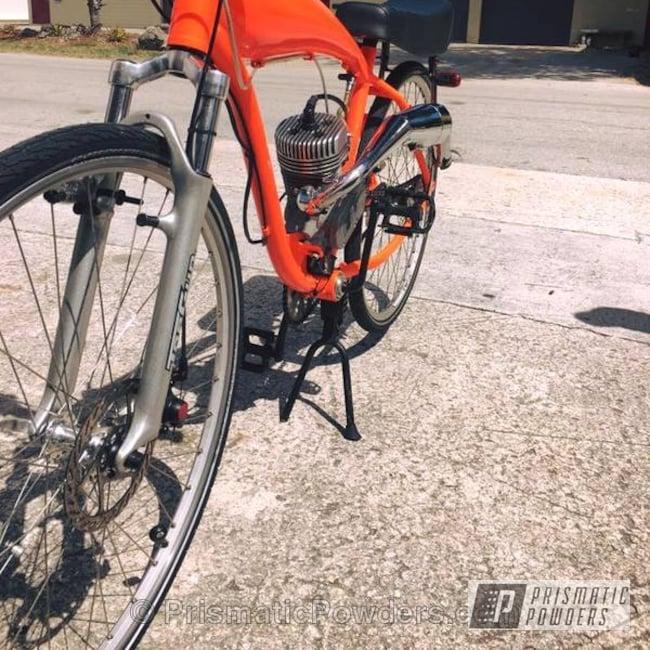 Powder Coating: Bicycles,Orange Glow PSS-2876