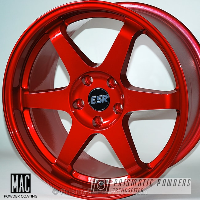 Rancher Red Over Polished Aluminum