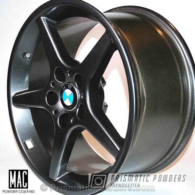 Powder Coating: Wheels,Crystal Grey PMB-5913,Powder Coated Mille Miglia Wheels