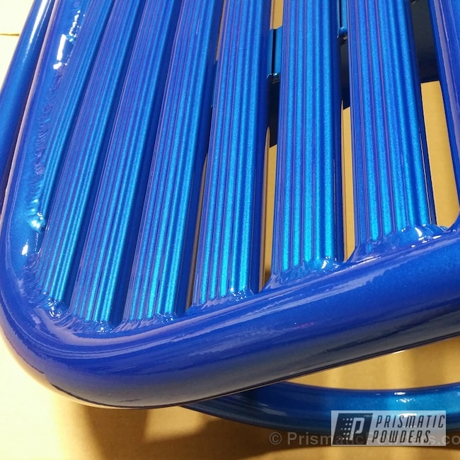 Powder Coating: Clear Vision PPS-2974,Illusion Smurf PMB-6909,Miscellaneous