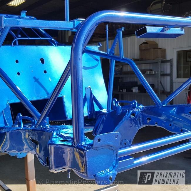 Powder Coating: Booty Blue PPB-2757,Automotive