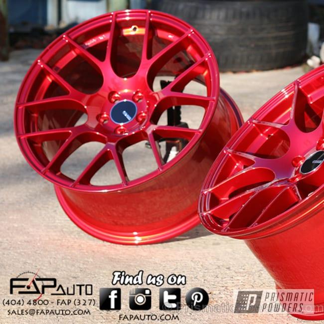 Powder Coating: Wheels,Deep Red PPS-4491
