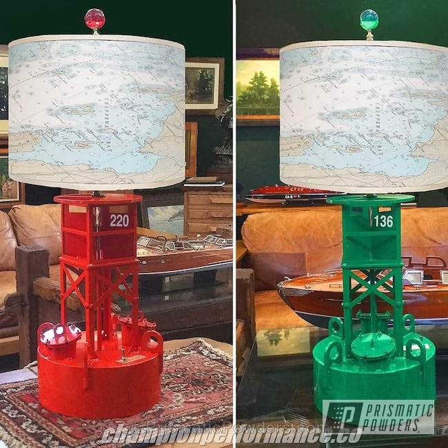 Powder Coating: RAL 3020 Traffic Red,Custom Lamps,RAL 6024 Traffic Green,Single Powder Applications,Buoy Lights,Miscellaneous