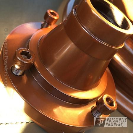 Powder Coating: Wheels,Automotive,Penny Gold PPB-5129,Powder Coated Wheel