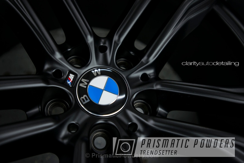 Powder Coating: Wheels,BLACK JACK USS-1522,Powder Coated BMW X5M  Wheel