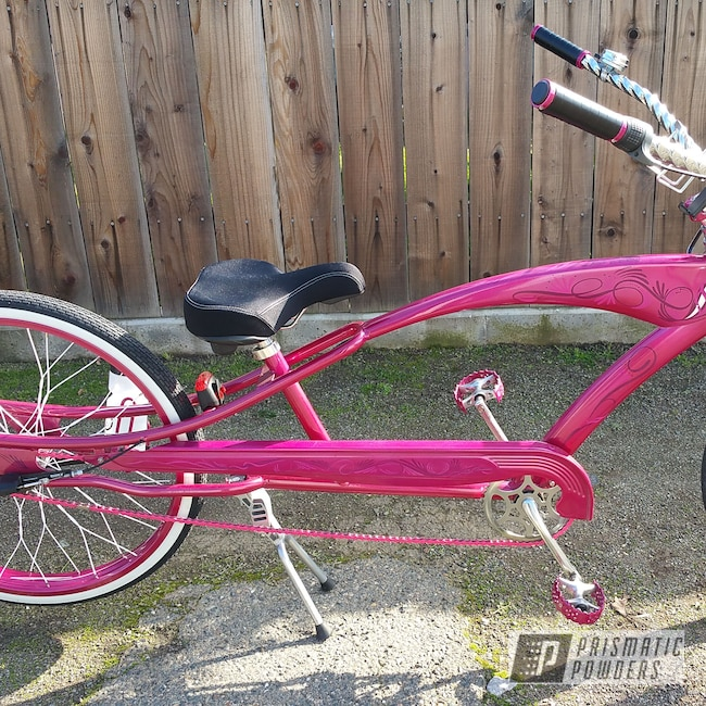 Powder Coating: Powder Coated Streched Bike,Bicycles,SPICED BERRY UPB-1641