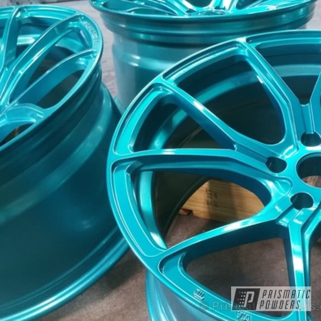 Ackbar Teal Over Polished Aluminum