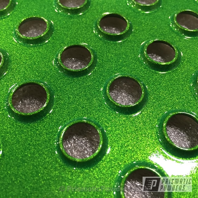 Powder Coating: Illusion Lime Time PMB-6918,Clear Vision PPS-2974,Off-Road,Powder Coated Snowmobile Parts