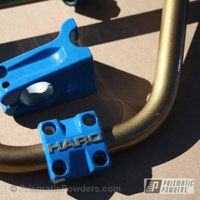 Powder Coating: Blue Teal PSB-6668,Bicycles,Disco Aqua PPB-7038