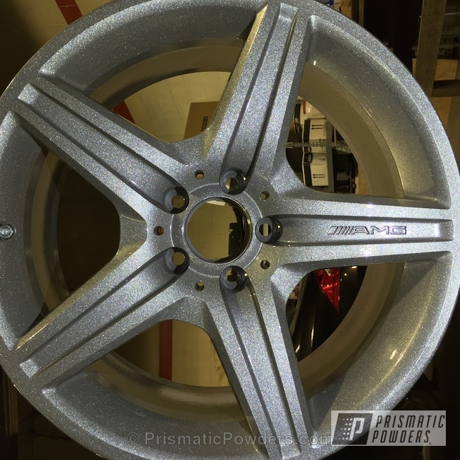 Heavy Silver With Clear Vision Top Coat