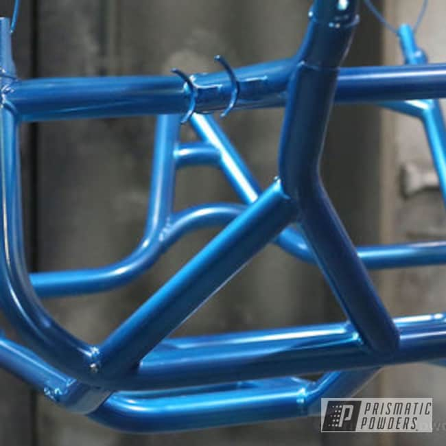 Hawaii Blue Over Polished Aluminum
