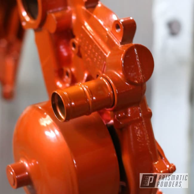 Striker Orange Over Polished Aluminum