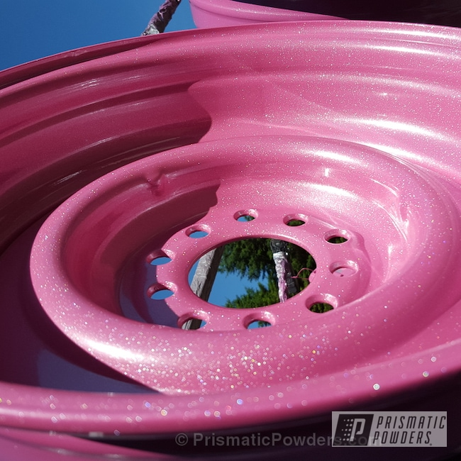 Powder Coating: Shattered Glass PPB-5583,Wheels,Powder Coated Motorcycle Wheel,Motorcycles