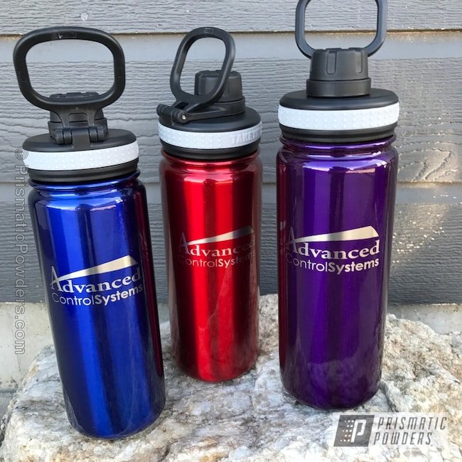Powder Coating: Custom Cups,Tumbler,LOLLYPOP RED UPS-1506,Personalized,Candy Coated Tumblers,Intense Blue PPB-4474,ANODIZED SUGAR GRAPE UPB-1542,Miscellaneous