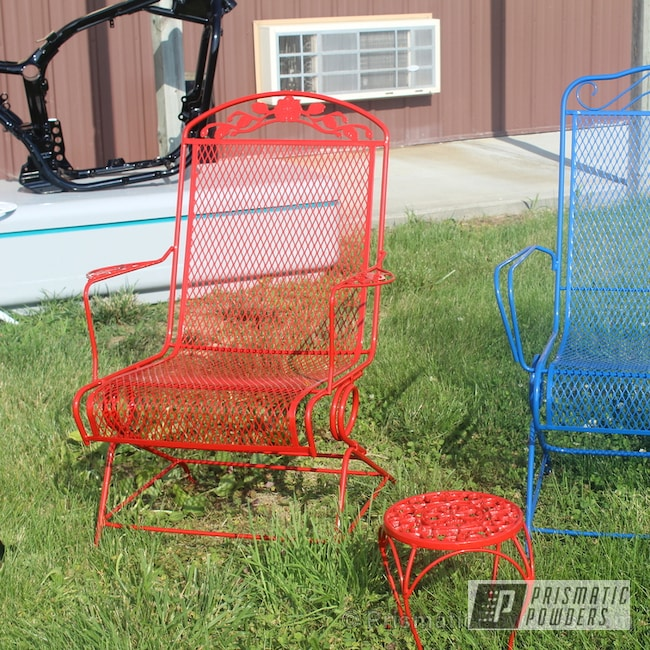 Powder Coating: Really Red PSS-4416,Pinelake Blue PSS-1464,Furniture