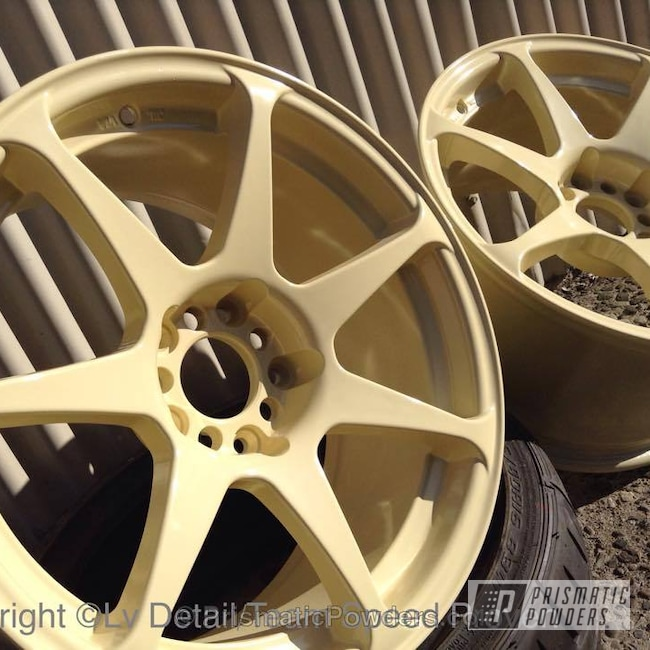 Powder Coating: Wheels,Clear Vision PPS-2974,Sad Beige PSS-3019,Powder Coated XXR 17""