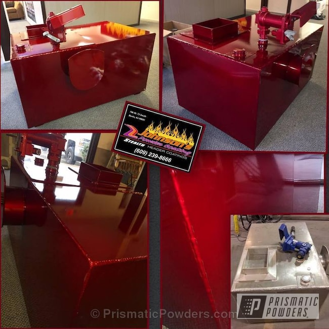 Powder Coating: Illusion Copper PMS-4622,Custom 2 Coats,Soft Red Candy PPS-2888,Custom Fuel Tank