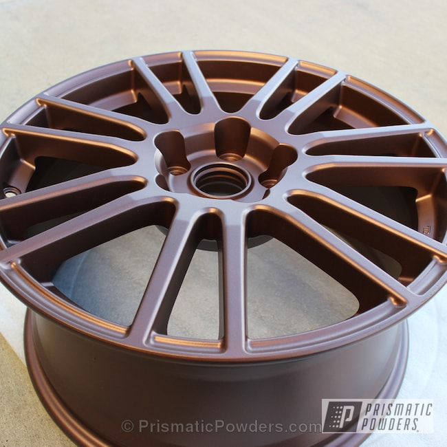 Powder Coating: Wheels,Subi Wheel Powder Coated,VANDOOZY COPPER UMB-6675