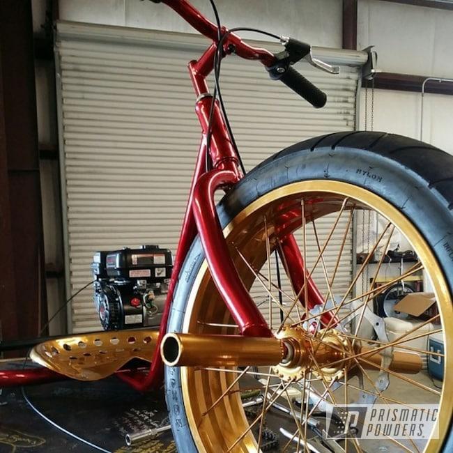 Powder Coating: Bicycles,SUPER CHROME USS-4482,chrome,Powder Coated Tortuga Trike