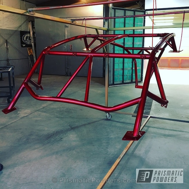 Powder Coating: Heavy Silver PMS-0517,LOLLYPOP RED UPS-1506,Custom Off-Road Build,Off-Road,Can-am X3