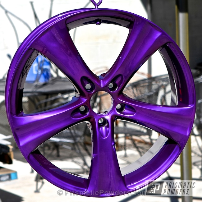 Powder Coating: Wheels,Clear Vision PPS-2974,SUPER CHROME USS-4482,chrome,Lollypop Purple PPS-1505