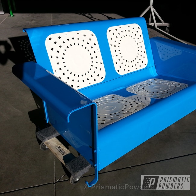 Powder Coating: Playboy Blue PSS-1715,Moby White PTS-4026,Furniture