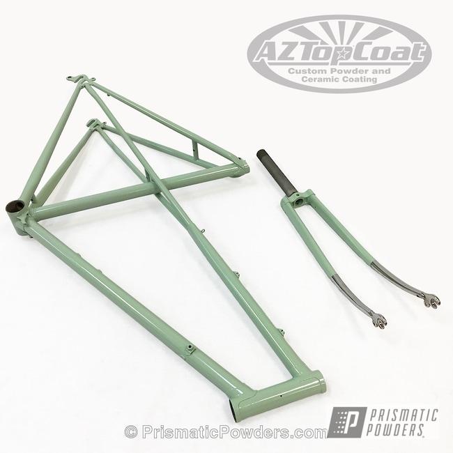 Powder Coating: Bicycles,Grey Mint PSB-6849
