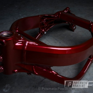 Soft Red Candy Over Super Chrome