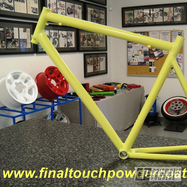 Powder Coating: Bicycles,Glazed Banana PSB-6745