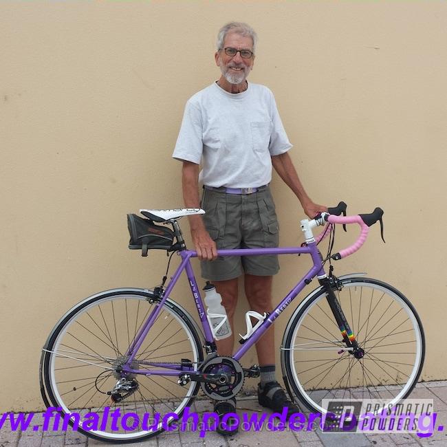 Powder Coating: Bicycles,RAL 4005 RAL-4005