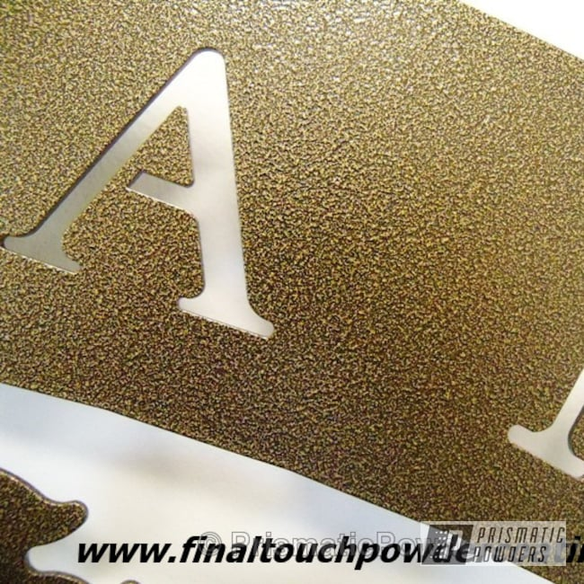 Powder Coating: Black/Gold PVB-1239,Miscellaneous