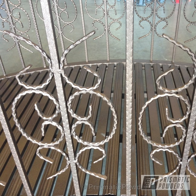 Powder Coating: Custom,Bronze,Custom Bridge,powder coating,powder coated,Prismatic Powders,WETSTONE AGED COPPER PWB-2508,Furniture