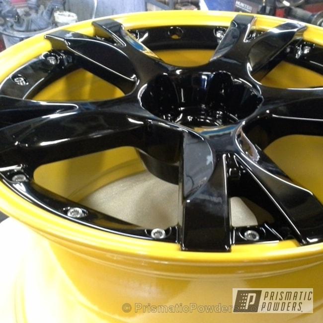 Ink Black And Yamaha Yellow