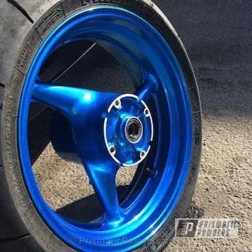 Lollypop Blue Over Super Chrome