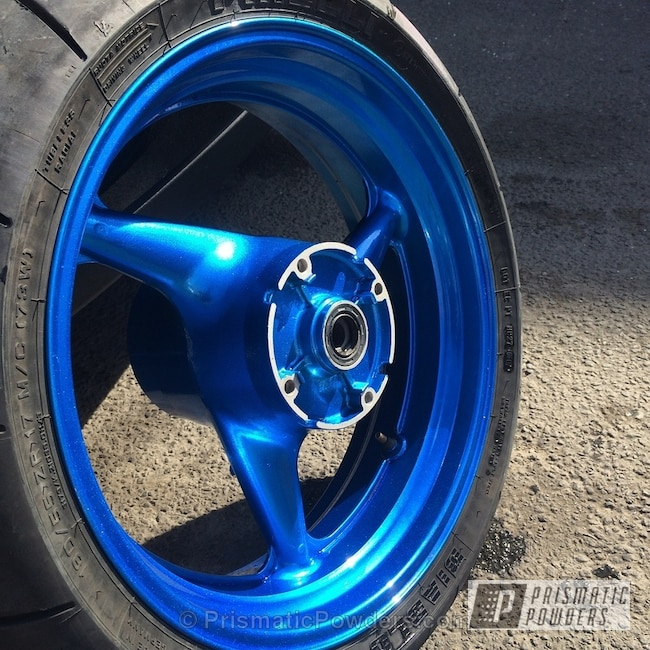 Lollypop Blue Over Super Chrome