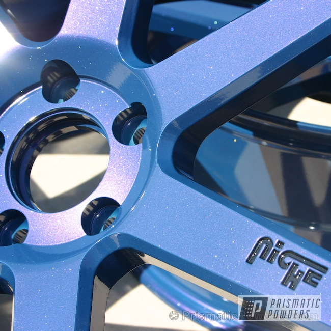 Powder Coating: Wheels,Blue wheels,Silver Sparkle PPB-4727,Blueberry Red PMB-2399,Custom Wheels,Ink Black PSS-0106,powder coating,Powder Coated Wheels,powder coated,Prismatic Powders