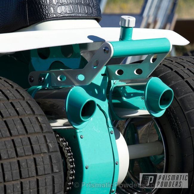 Powder Coating: Tropical Breeze PSS-6837,three wheeler,Off-Road,blue,powder coated,Illusions