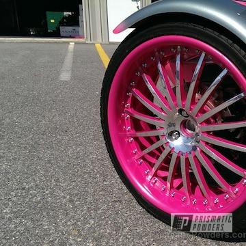 Lazer Polka Dot Pink