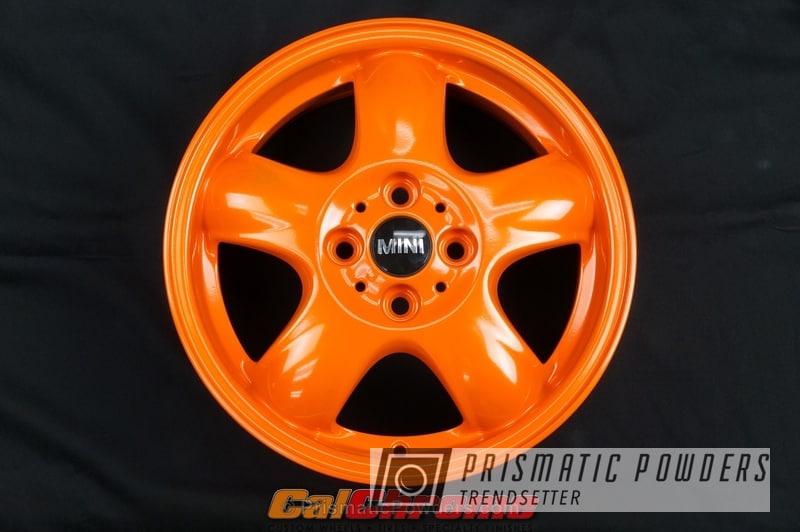 Striker Orange over Super Chrome