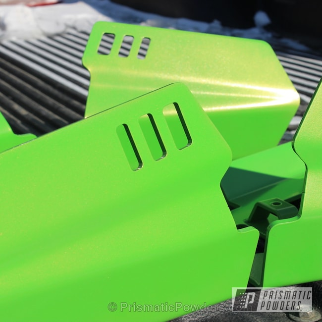 Powder Coating: Off-Road,Lime Juice Green PMB-2304,TYRX A-Arm Protectors