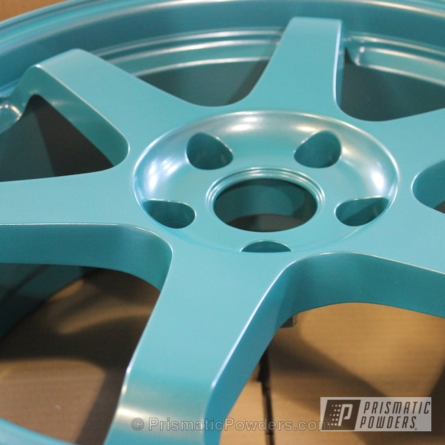 Powder Coating: Wheels,Automotive,Honda,Peacock Sparkle PMB-0310,Go Auto Civic