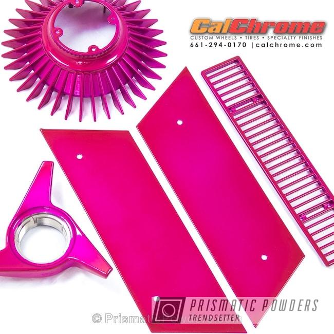 Powder Coating: Single Powder Application,Automotive,Corvette Parts,LOLLYPOP BERRY UPS-1509