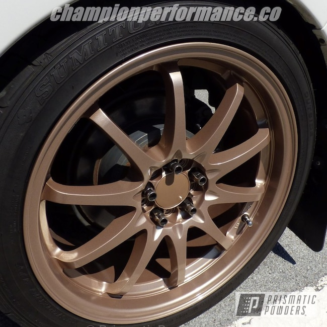 Powder Coating: Wheels,Clear Vision PPS-2974,Mocha Pearl PMB-6822,Barry White