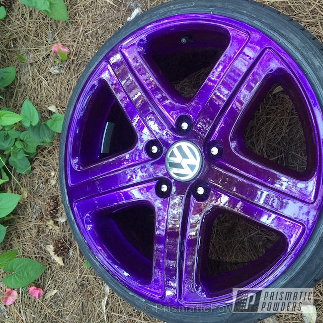 Powder Coating: Wheels,Touareg Wheels,SUPER CHROME USS-4482,chrome,ANODIZED SUGAR GRAPE UPB-1542